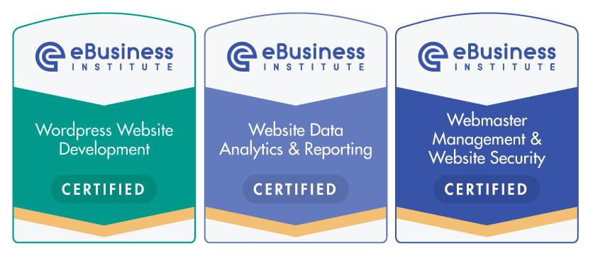 Ebusiness Institute Web Design Certificate